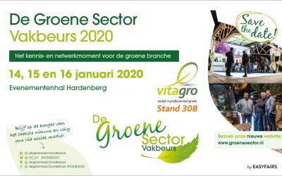 Bezoek onze stand tijdens De Groene Sector Vakbeurs Hardenberg
